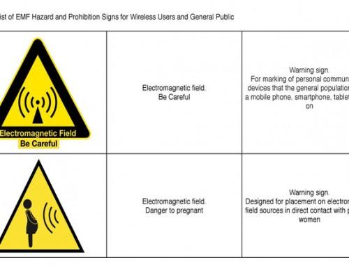Det russiske strålevernet ønsker advarsel på mobiltelefoner og andre EMF-kilder